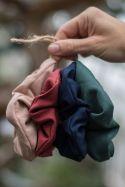 Zestaw dużych czterech gumek do włosów